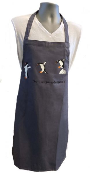 Leaping Penguin Aprons